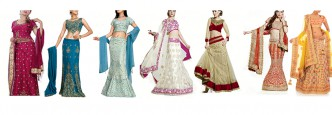 Indian Costume Collage