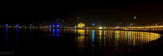 marine drive by night